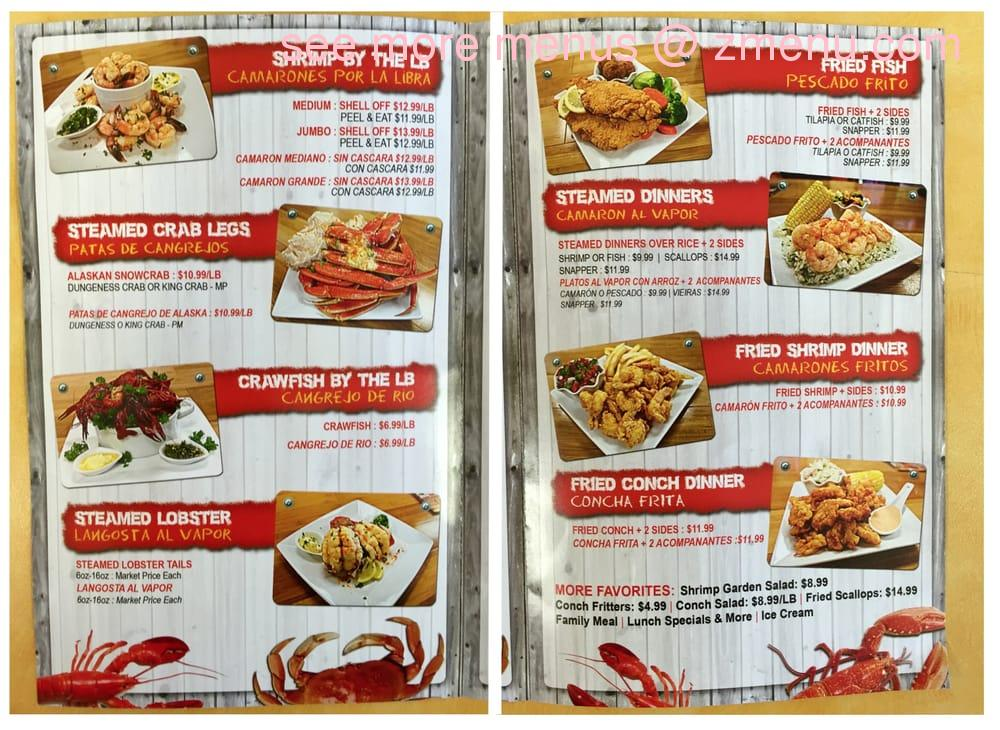 Online Menu Of Mr Shrimp Restaurant Lake Worth Florida 33461 Zmenu