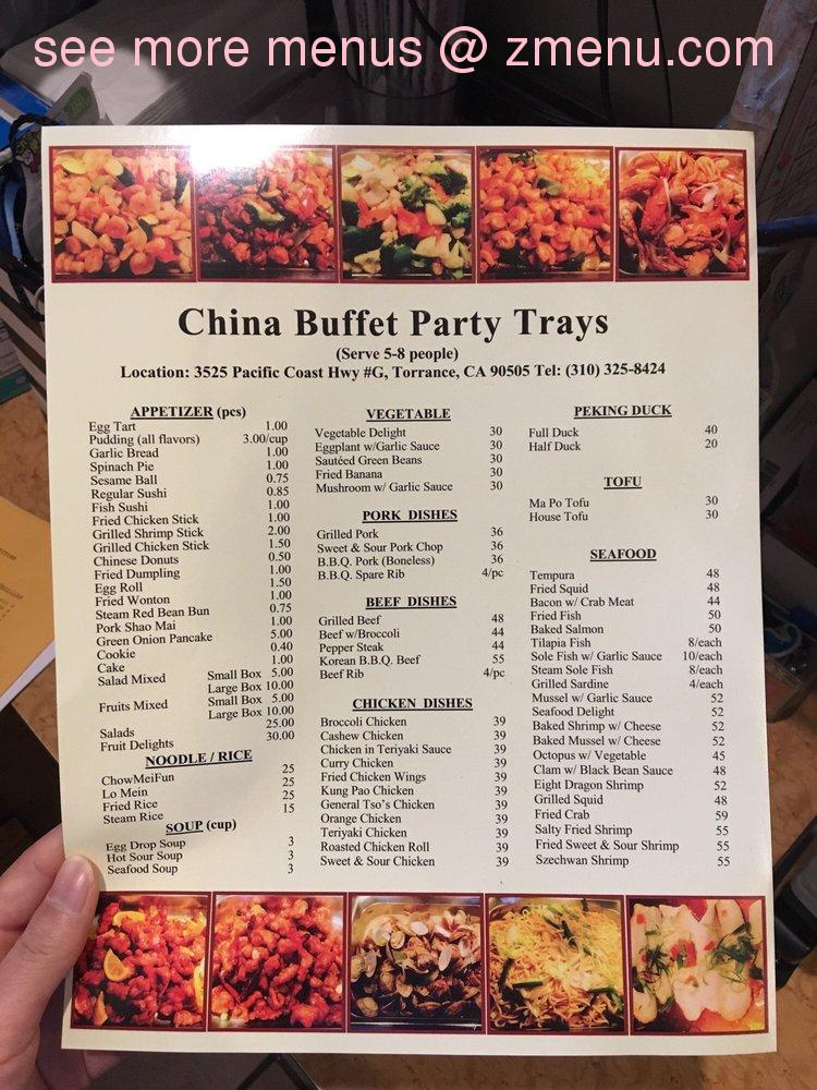 Astounding Online Menu Of China Buffet Restaurant Torrance California Download Free Architecture Designs Scobabritishbridgeorg