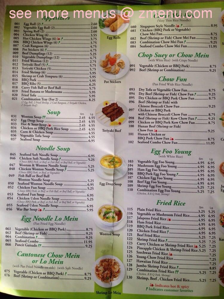 Bina S Cafe Chicago Menu