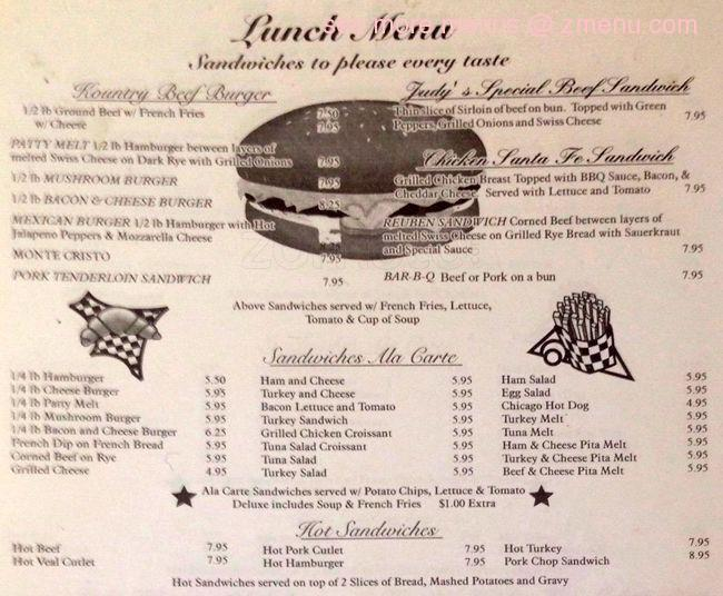 Online Menu of Kendall\'s Kountry Kitchen Restaurant, Elgin ...