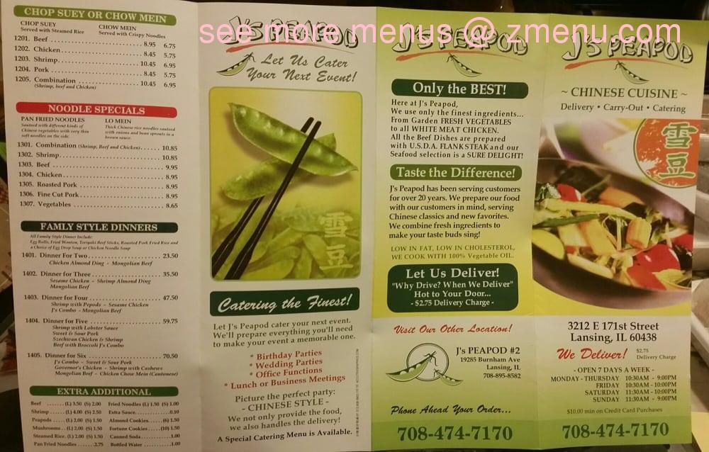Chinese Food Lansing Il