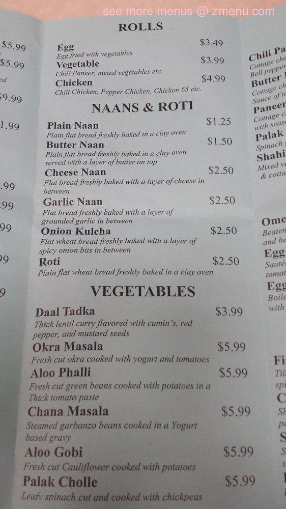 Peoria Indian Restaurant Issue