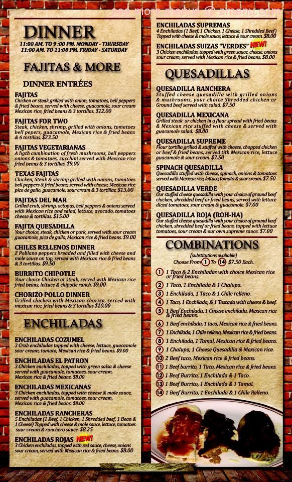 El Patron Mexican Restaurant Bar Rock Island Il