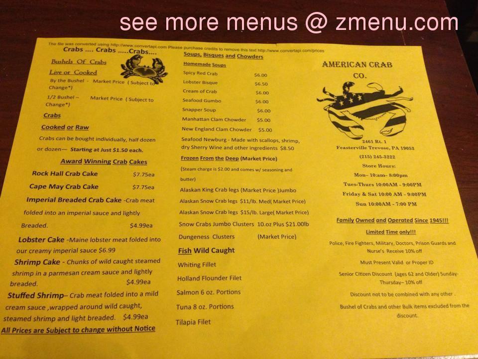 Seafood Restaurants Feasterville Pa