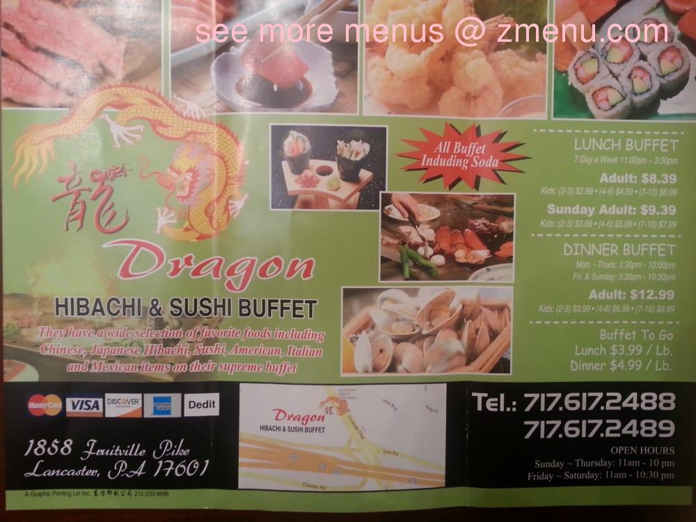 Admirable Online Menu Of Dragon Hibachi Sushi Buffet Restaurant Home Interior And Landscaping Dextoversignezvosmurscom
