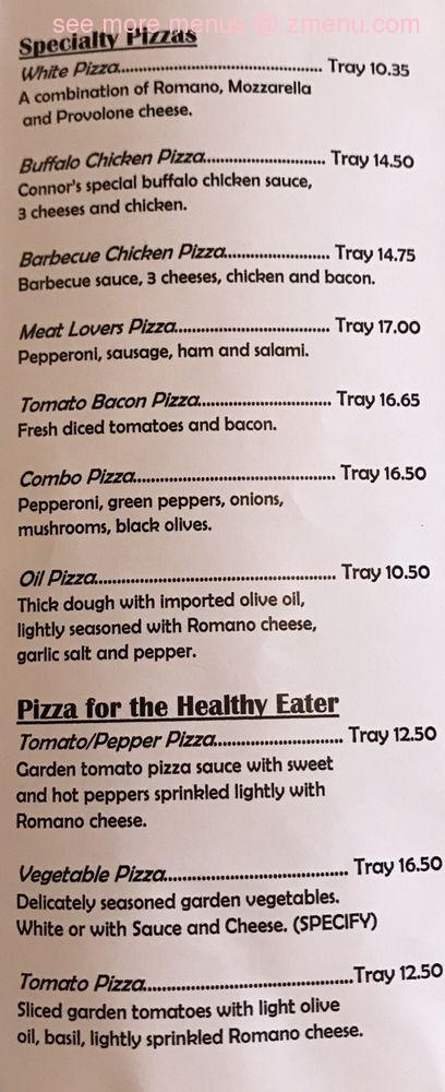 Online Menu Of Darcs Pizza Shop Restaurant Windber Pennsylvania