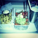 garlic-cilantro-fries