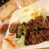 grilled-pork-chop,-shredded-pork-&-egg-over-steamed-rice