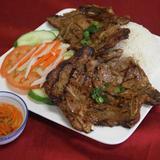 grilled-pork-chop-over-steamed-rice
