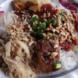 grilled-pork,-shredded-pork-&-egg-roll-over-vermicelli