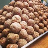 meat-balls,-house-ricotta,-tomatoes-gravy