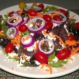 gyro-with-spring-mix-salad