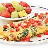 simple-&-fit-vegetable-omelette