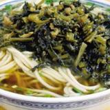 pickled-cabbage-w/pork-noodle-soup