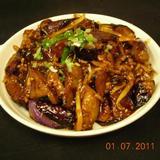 eggplant-w/garlic-sauce