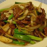lamb-w/green-onions