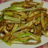 yellow-chives-&-bean-curd-w/shredded-pork