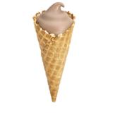 chocolate-frosty-waffle-cone
