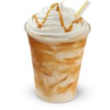 large-caramel-frosty™-shake
