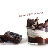 warm-oreo® brownie-sundae