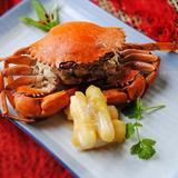 blue-crab-w/-rice-cake-in-brown-sauce