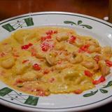 shrimp crab tortelli romana - Olive Garden Chico