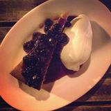 blueberry-almond-cake