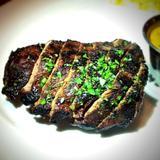 london-broil-steak-frites: