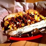 chipotle-ranch,-bacon-and-cheddar-hot-dog