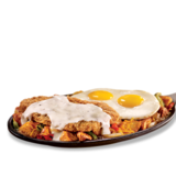 country-fried-steak-&-eggs-skillet