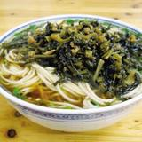 shredded-pork-green-vege-noodle