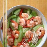 cucumber-and-shrimp-noodle