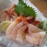 amaebi-sashimi