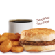 sausage-biscuit-sandwich-meal