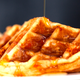 spam-and-cheese-waffles